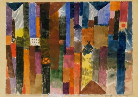 Klee, Paul: Before the Town. Fine Art Print/Poster (5025)